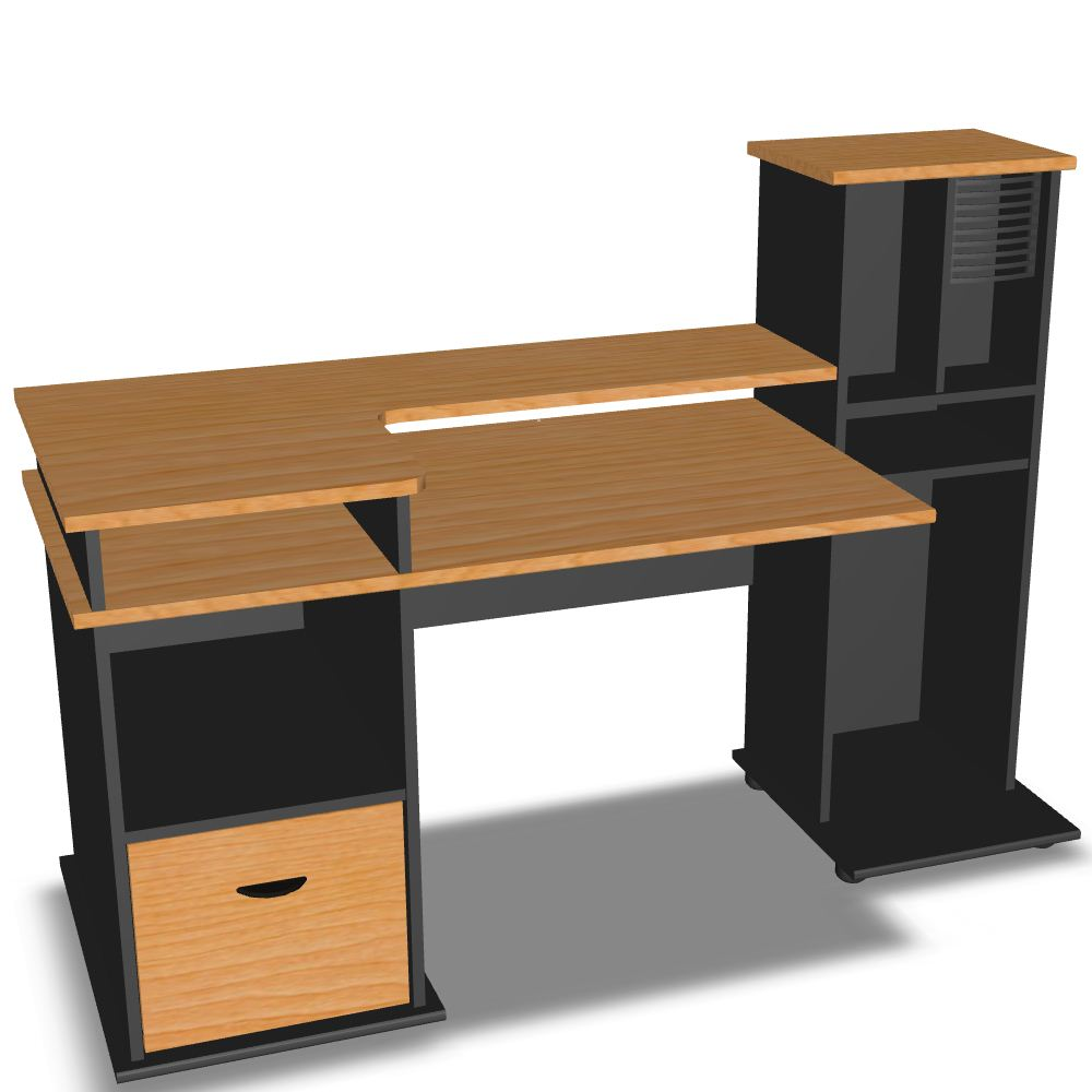Computer tables crowdbuild for for Furniture 0ne